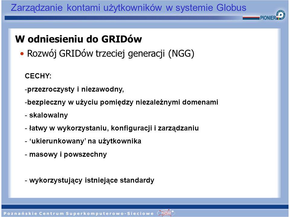 W odniesieniu do GRIDów