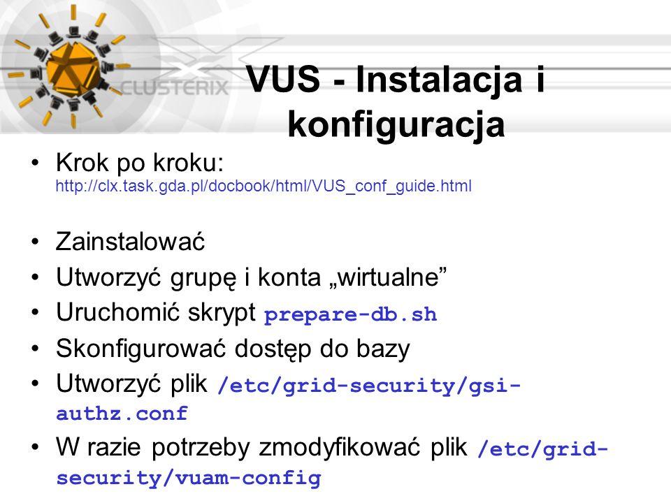 VUS - Instalacja i konfiguracja