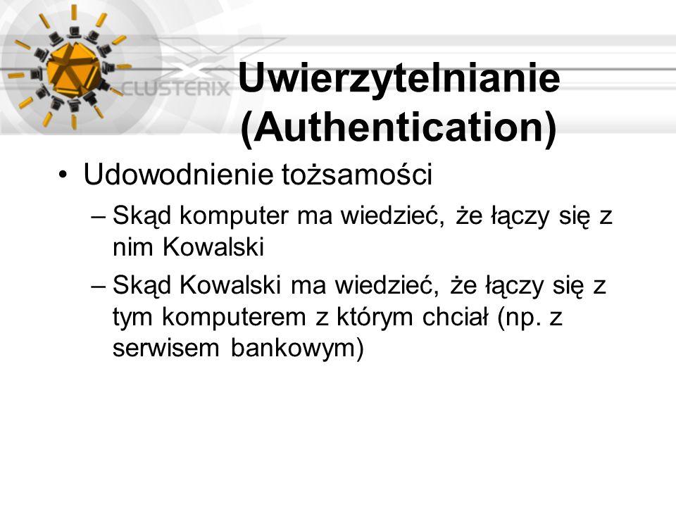 Uwierzytelnianie (Authentication)