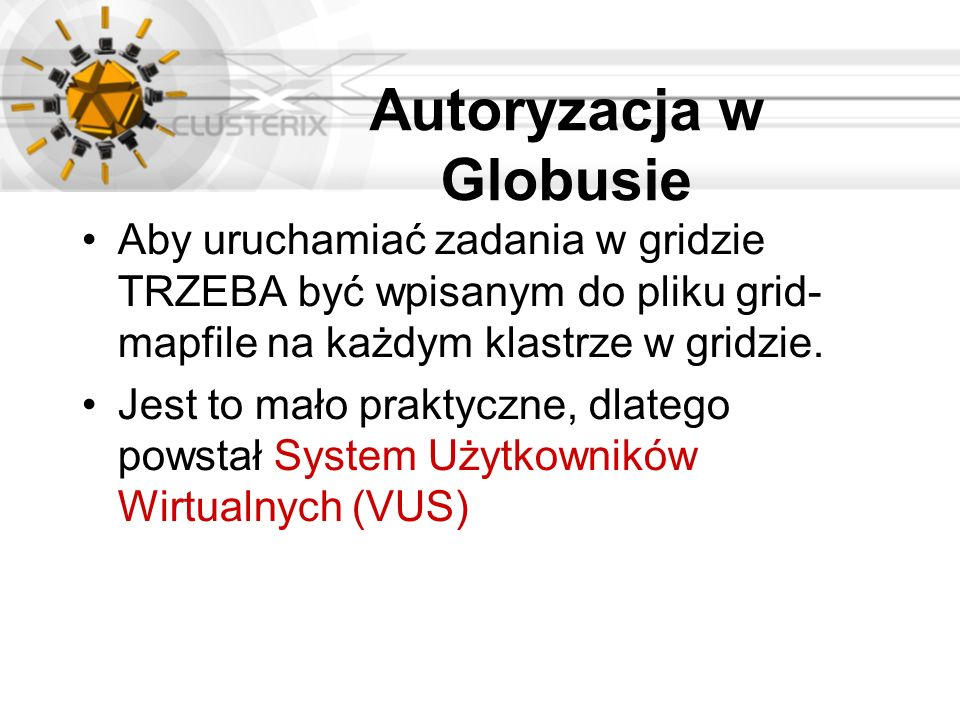 Autoryzacja w Globusie