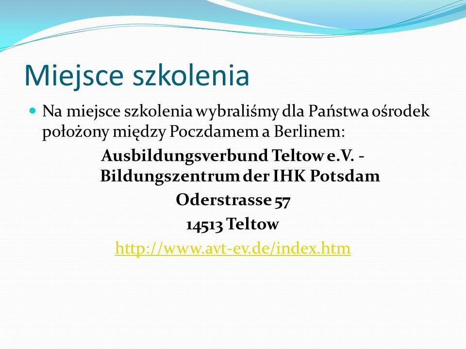 Ausbildungsverbund Teltow e.V. - Bildungszentrum der IHK Potsdam