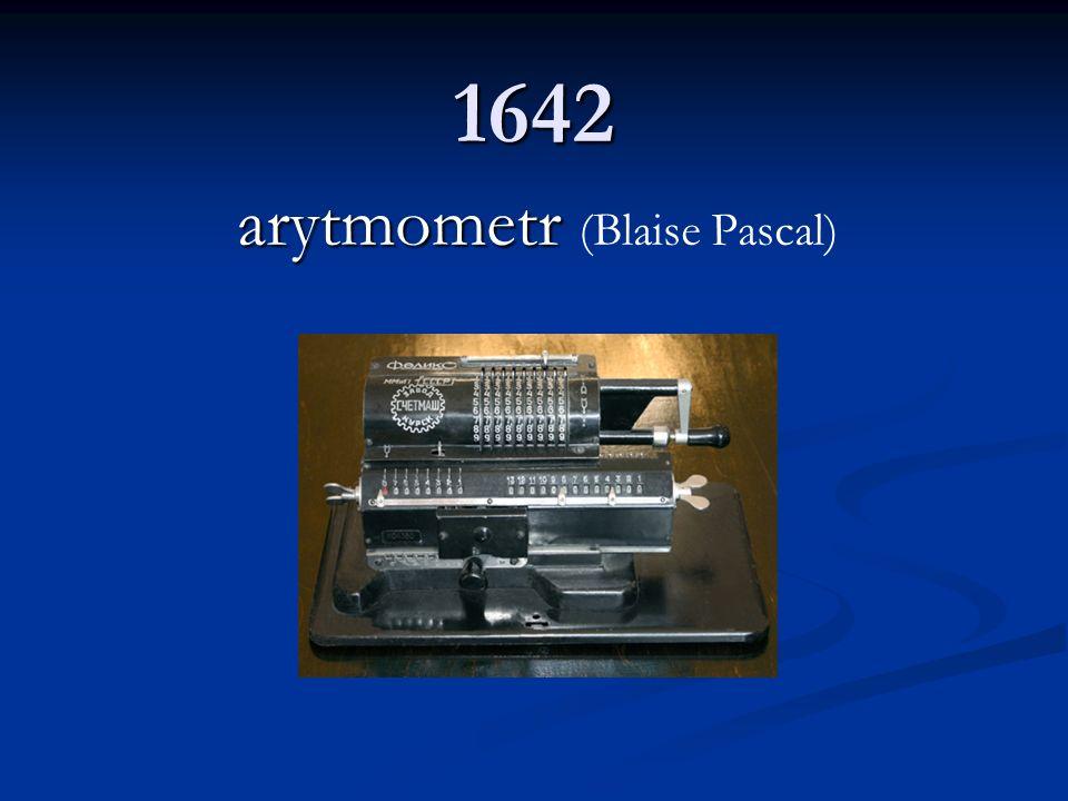 arytmometr (Blaise Pascal)