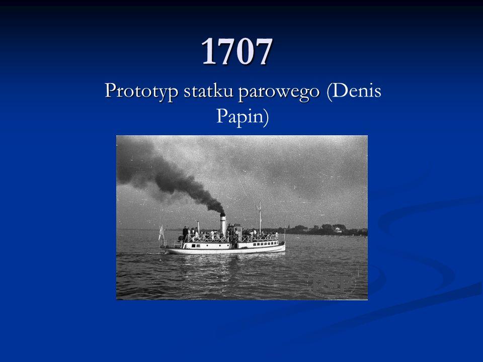Prototyp statku parowego (Denis Papin)