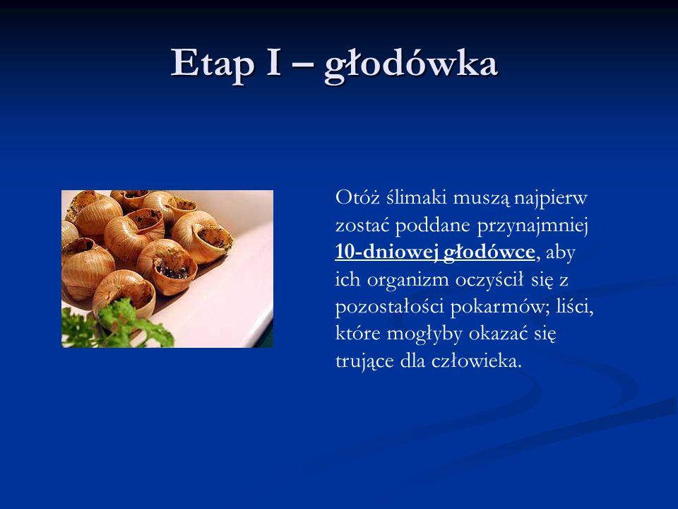Etap I – głodówka