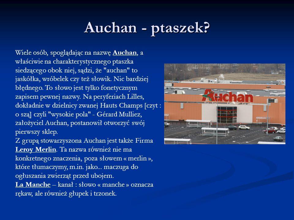 Auchan - ptaszek