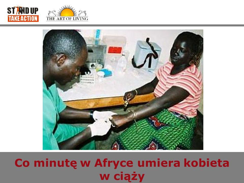 Co minutę w Afryce umiera kobieta w ciąży