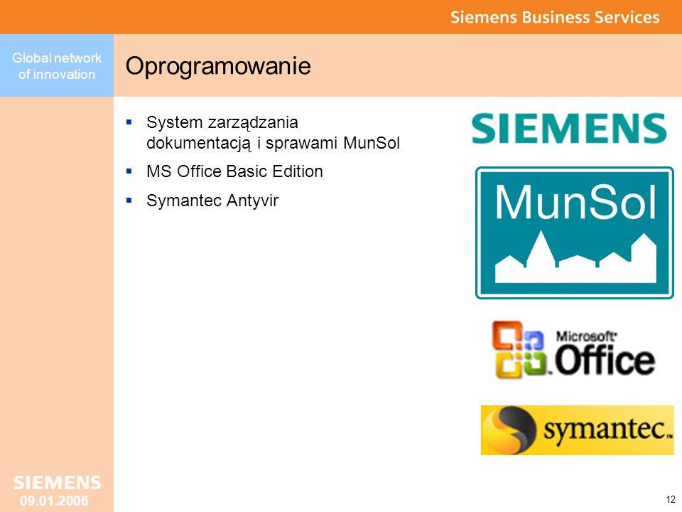 Oprogramowanie System zarządzania dokumentacją i sprawami MunSol