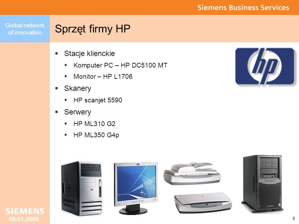 Sprzęt firmy HP Stacje klienckie Skanery Serwery
