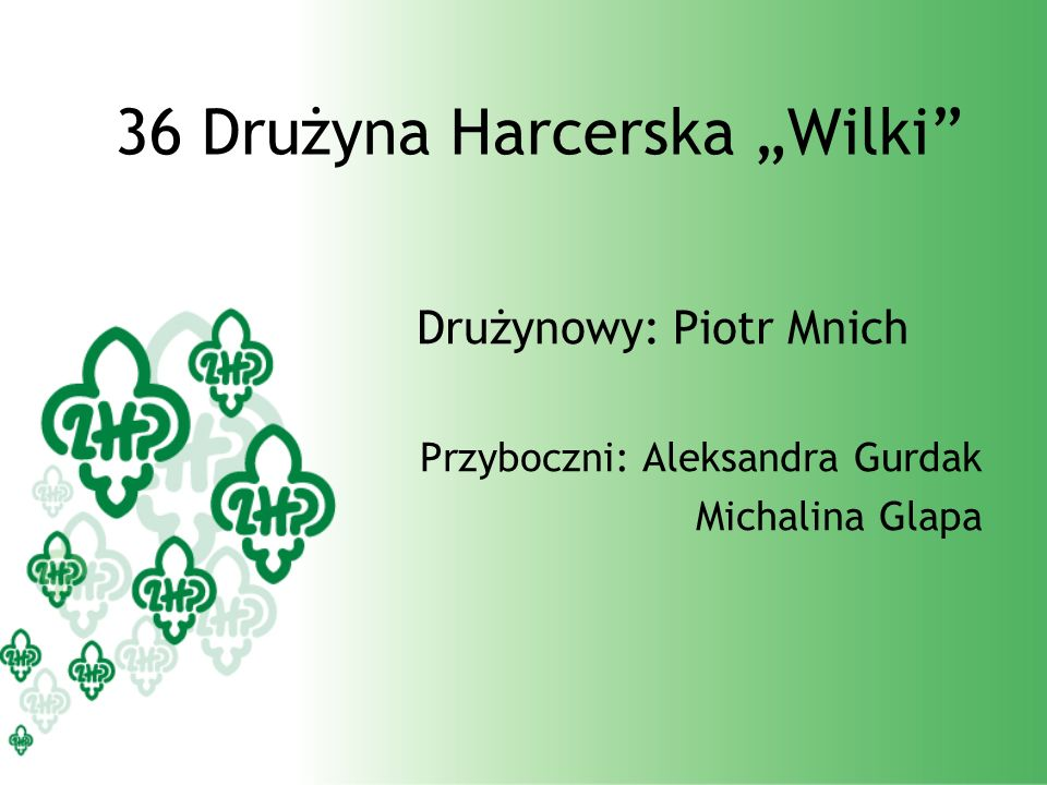 "36 Drużyna Harcerska ""Wilki"