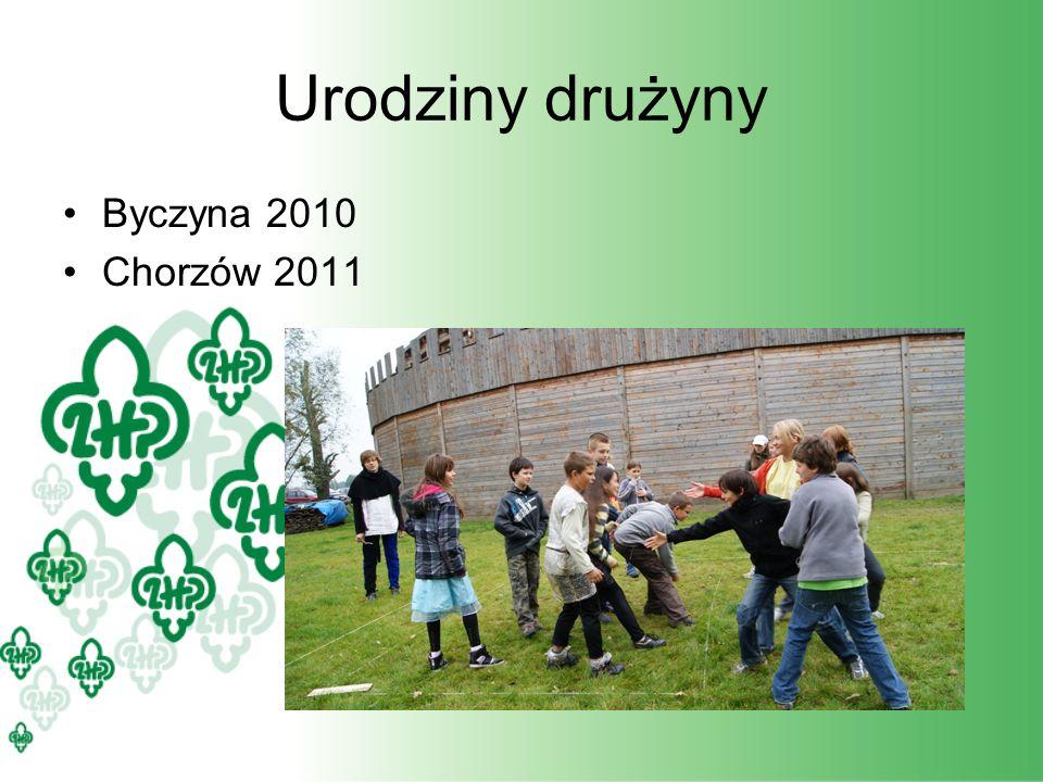 Urodziny drużyny Byczyna 2010 Chorzów 2011