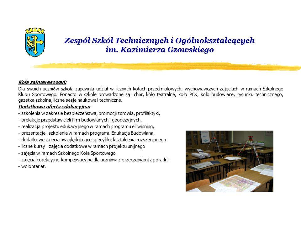 Zespół Szkół Technicznych i Ogólnokształcących im