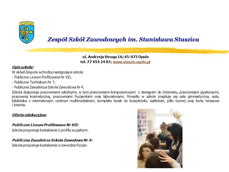 Zespół Szkół Zawodowych im. Stanisława Staszica