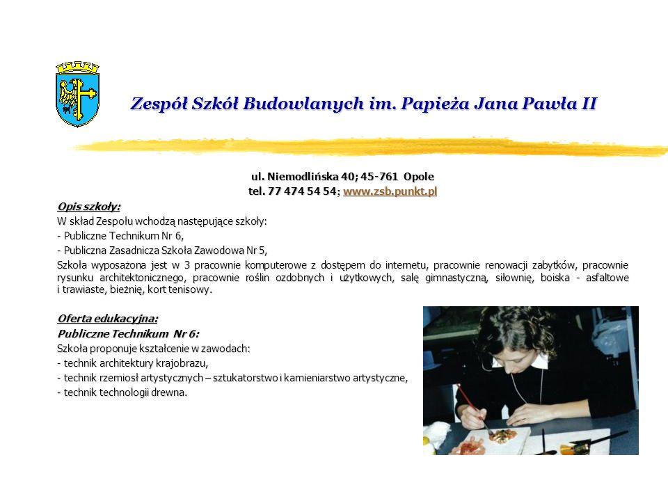 Zespół Szkół Budowlanych im. Papieża Jana Pawła II