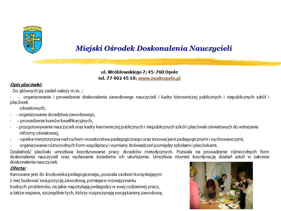 Miejski Ośrodek Doskonalenia Nauczycieli
