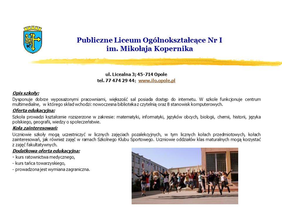 Publiczne Liceum Ogólnokształcące Nr I im. Mikołaja Kopernika