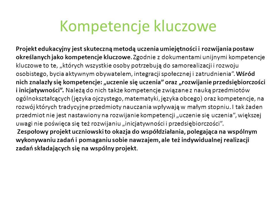 Kompetencje kluczowe