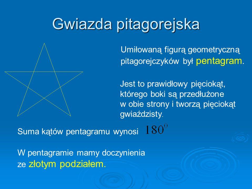Gwiazda pitagorejska Umiłowaną figurą geometryczną