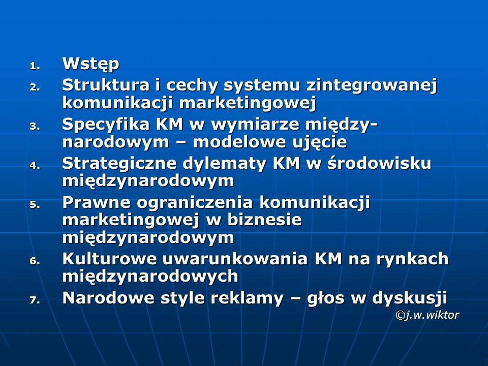 Struktura i cechy systemu zintegrowanej komunikacji marketingowej