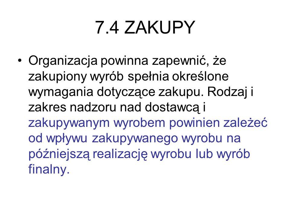 7.4 ZAKUPY