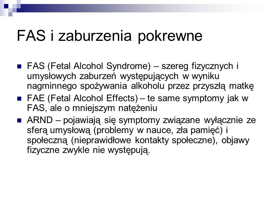 FAS i zaburzenia pokrewne