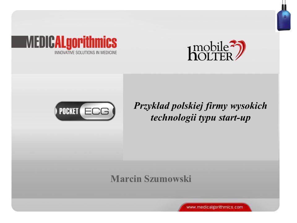 Przykład polskiej firmy wysokich technologii typu start-up