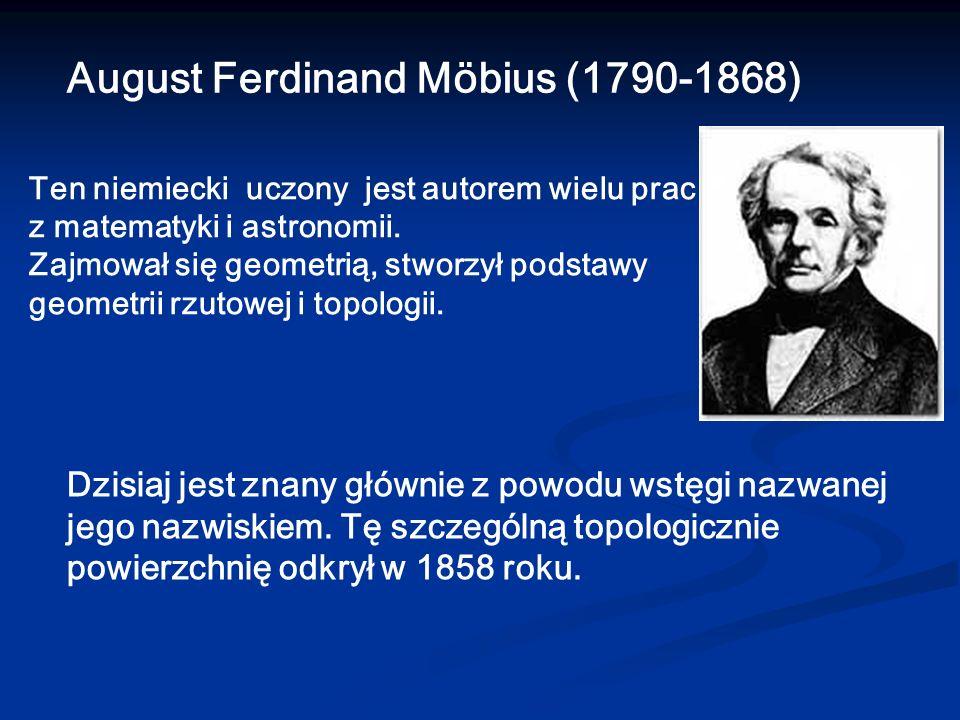 August Ferdinand Möbius (1790-1868)