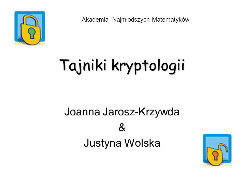 Joanna Jarosz-Krzywda & Justyna Wolska