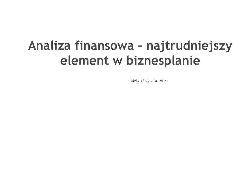 Analiza finansowa – najtrudniejszy element w biznesplanie