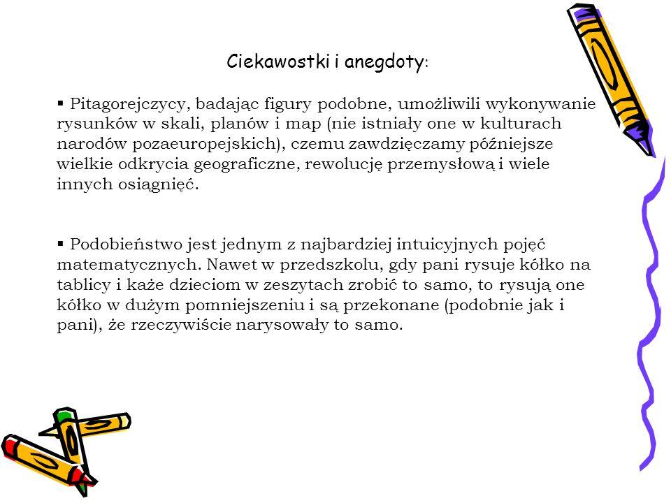 Ciekawostki i anegdoty: