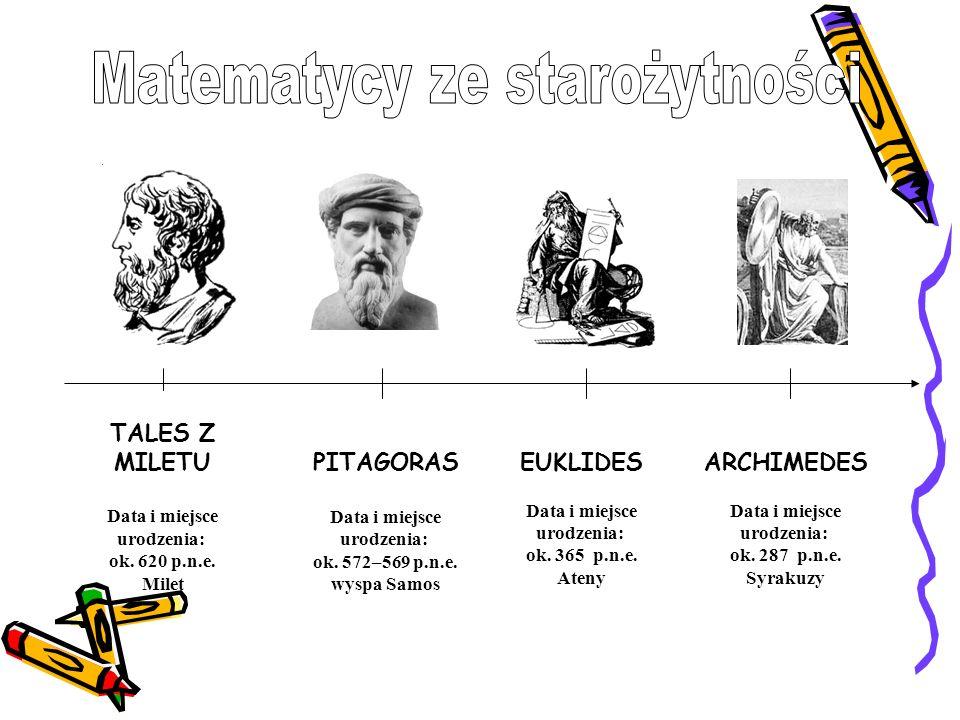 Matematycy ze starożytności