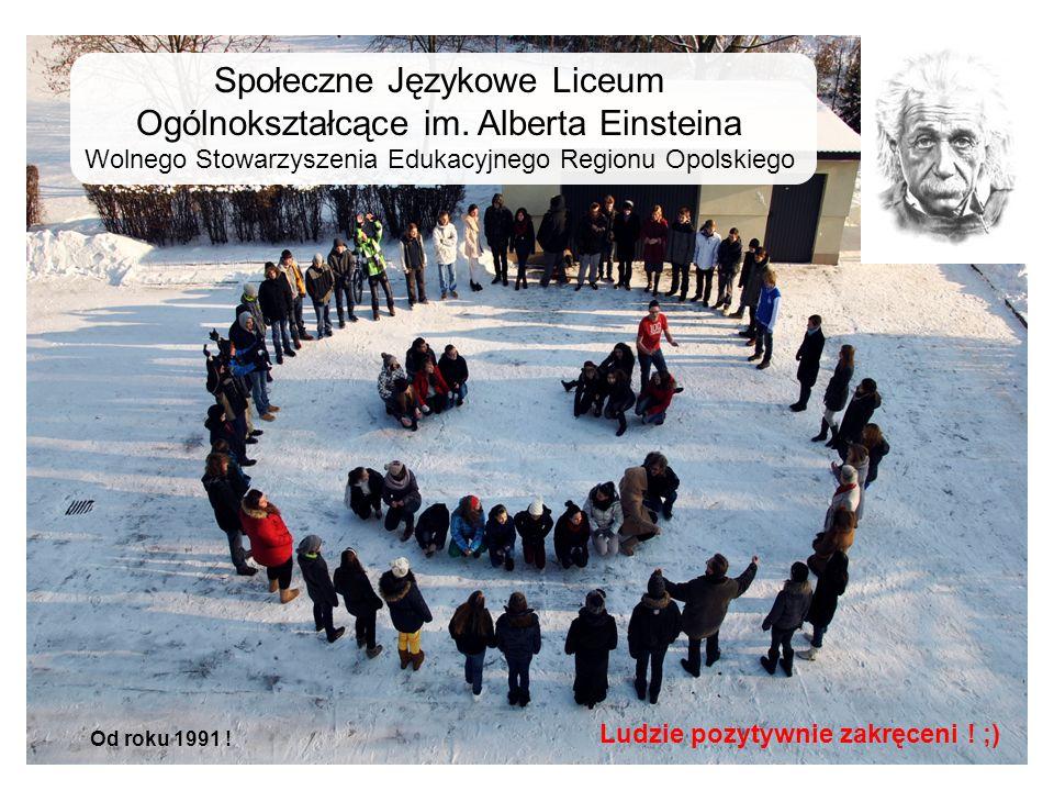 Społeczne Językowe Liceum Ogólnokształcące im. Alberta Einsteina