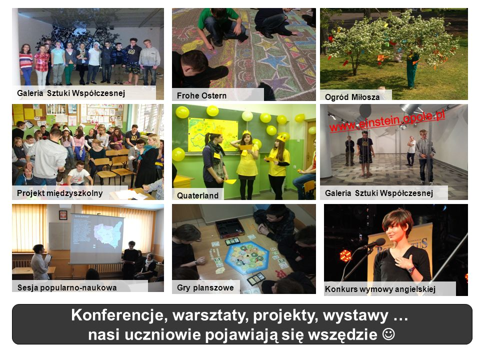 Konferencje, warsztaty, projekty, wystawy …