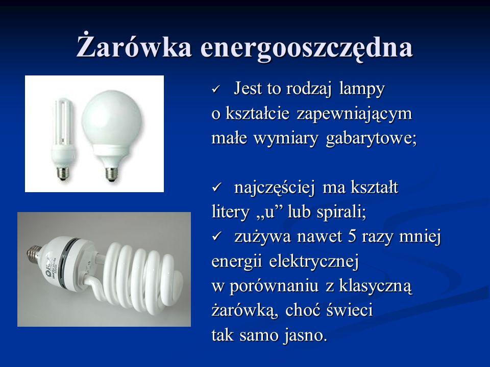 Żarówka energooszczędna