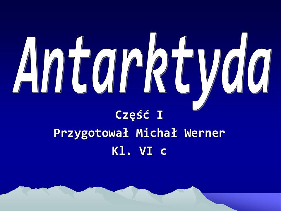 Część I Przygotował Michał Werner Kl. VI c