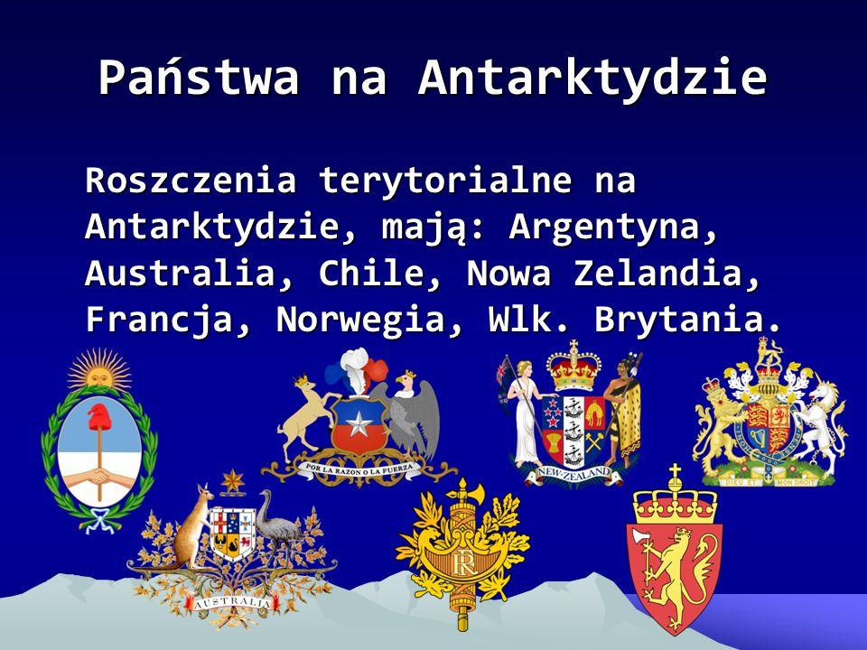 Państwa na Antarktydzie