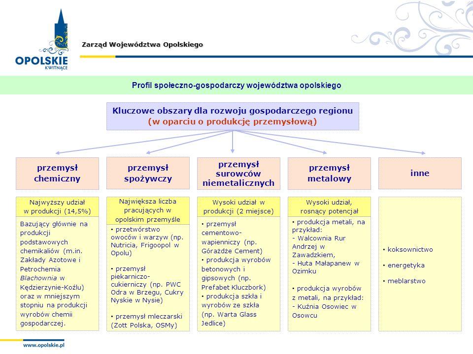 Profil społeczno-gospodarczy województwa opolskiego