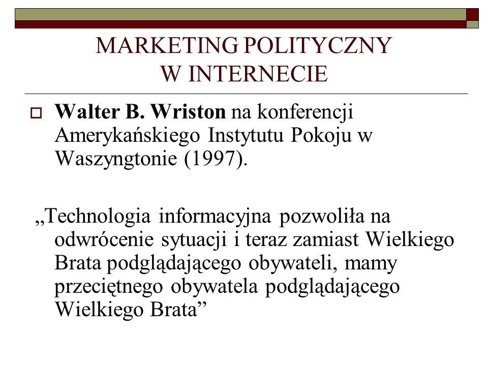 MARKETING POLITYCZNY W INTERNECIE