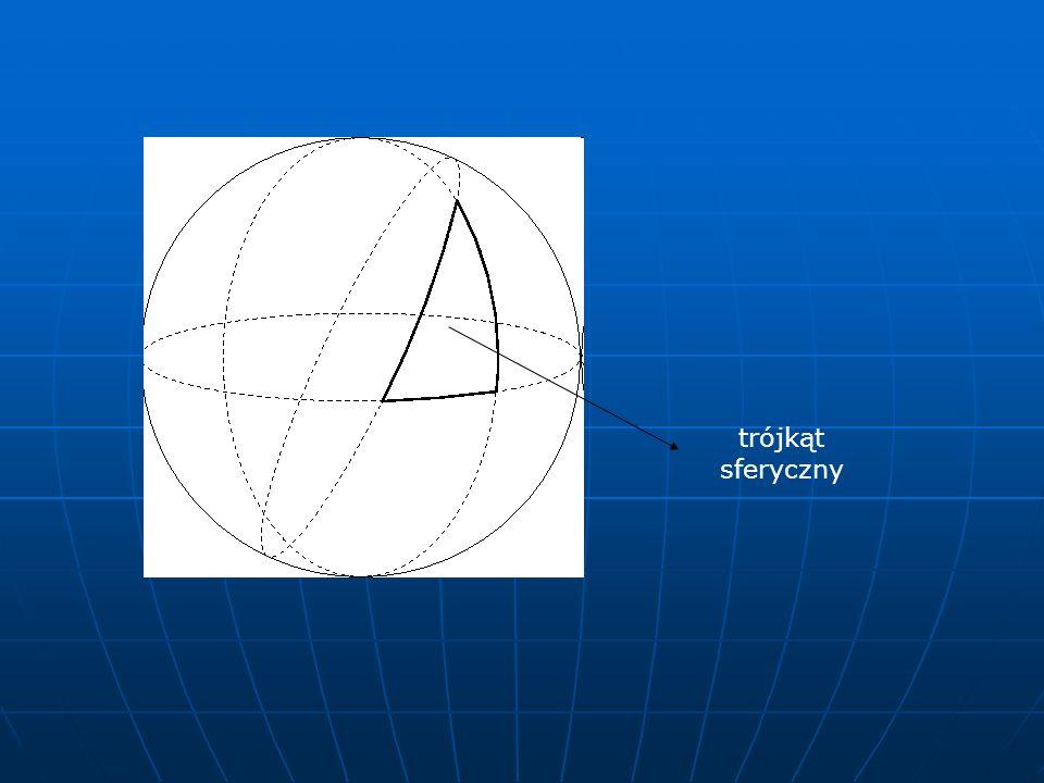 trójkąt sferyczny