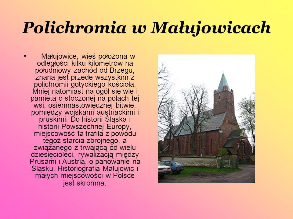 Polichromia w Małujowicach
