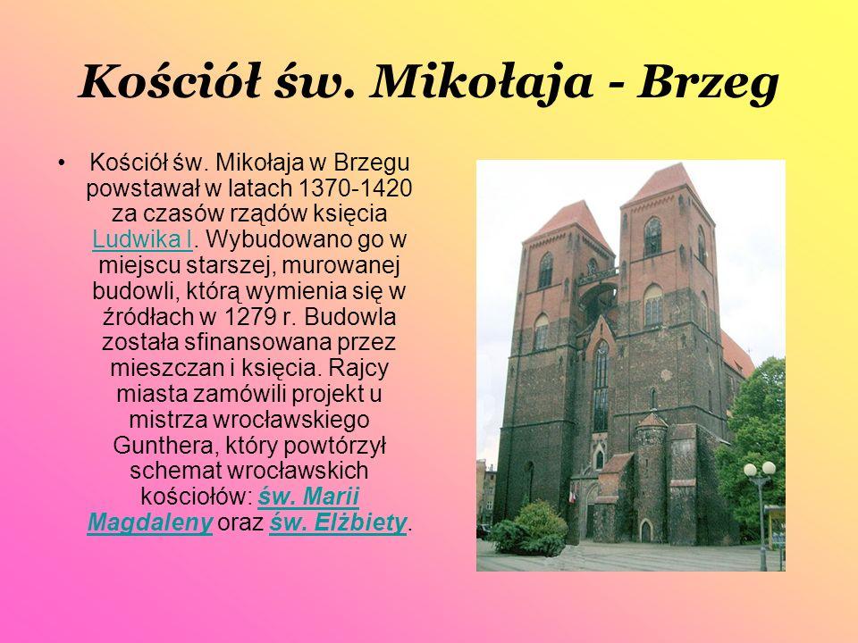Kościół św. Mikołaja - Brzeg