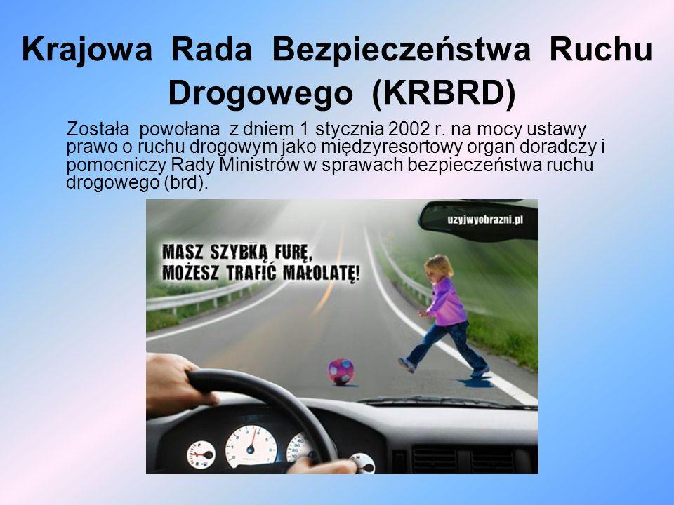 Krajowa Rada Bezpieczeństwa Ruchu Drogowego (KRBRD)