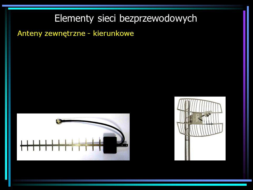 Elementy sieci bezprzewodowych