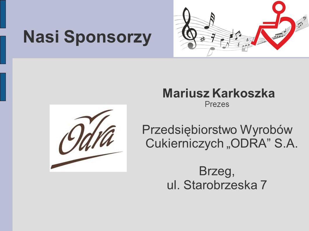 """Przedsiębiorstwo Wyrobów Cukierniczych """"ODRA S.A."""