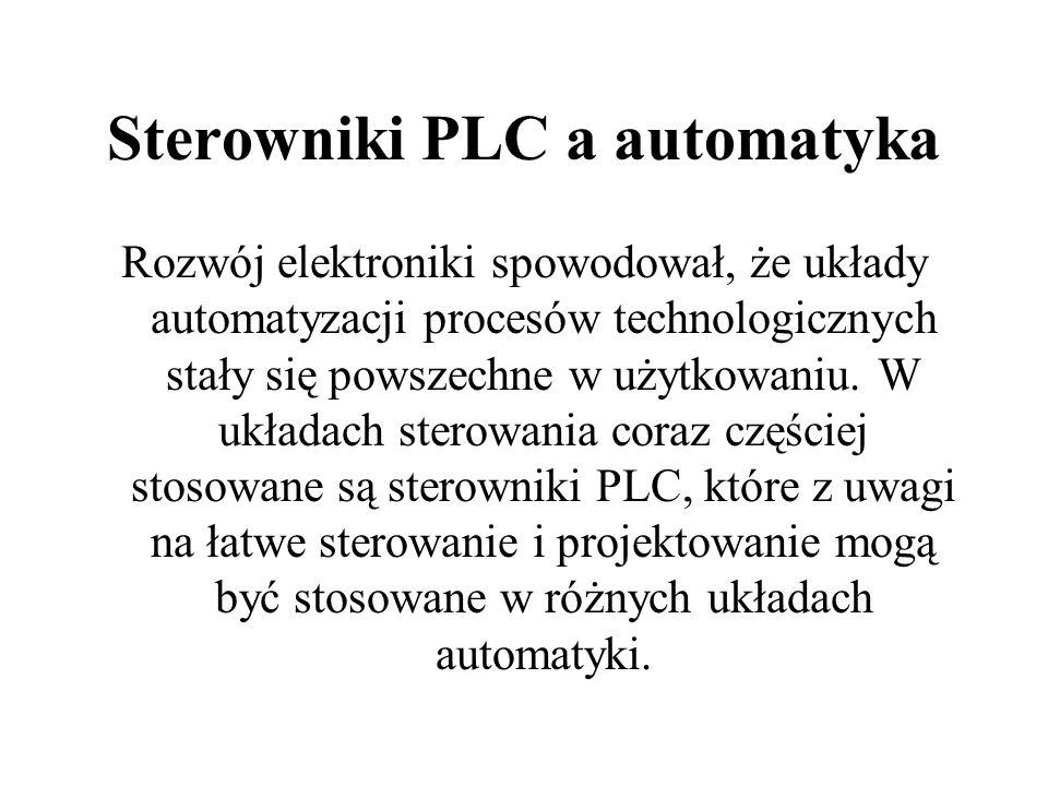 Sterowniki PLC a automatyka