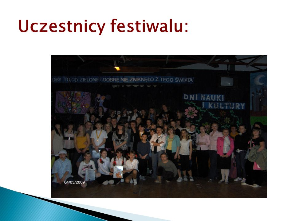 Uczestnicy festiwalu: