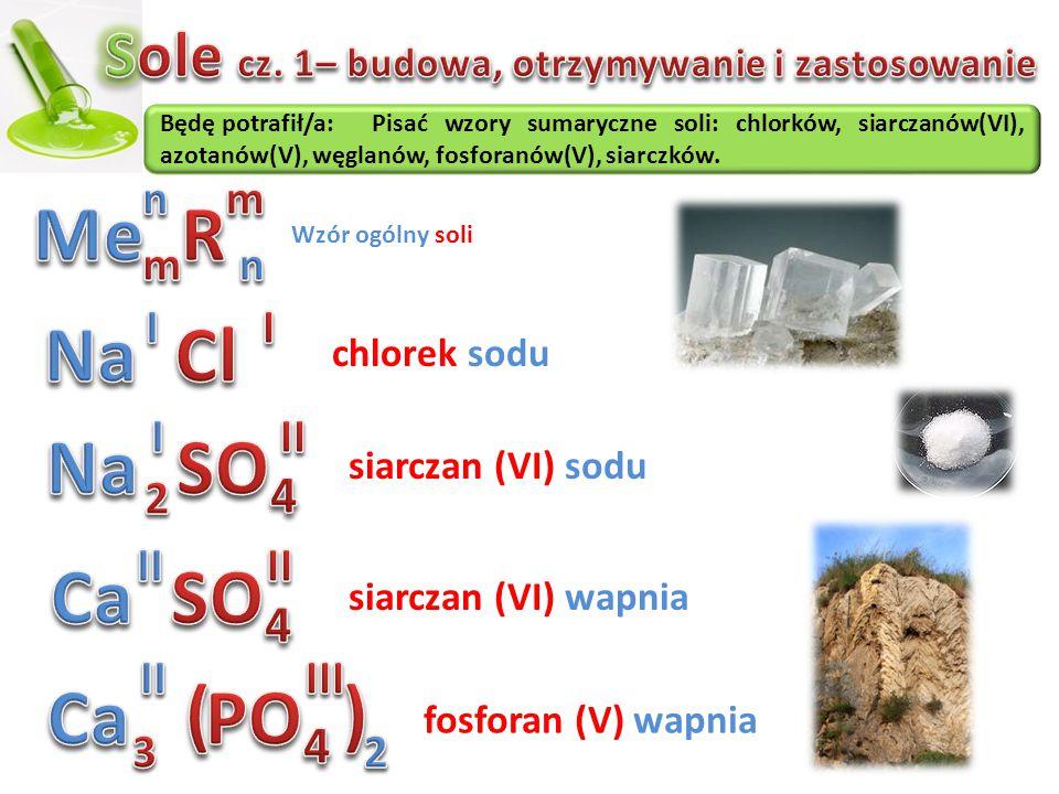 Sole cz. 1– budowa, otrzymywanie i zastosowanie