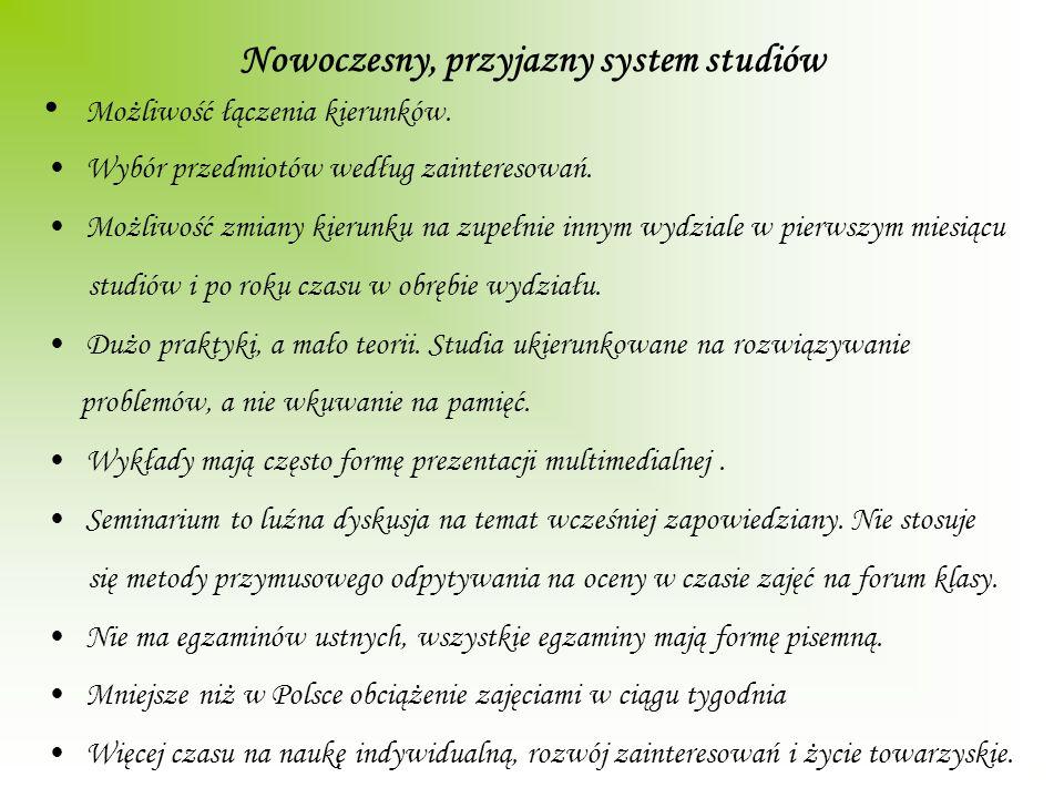 Nowoczesny, przyjazny system studiów