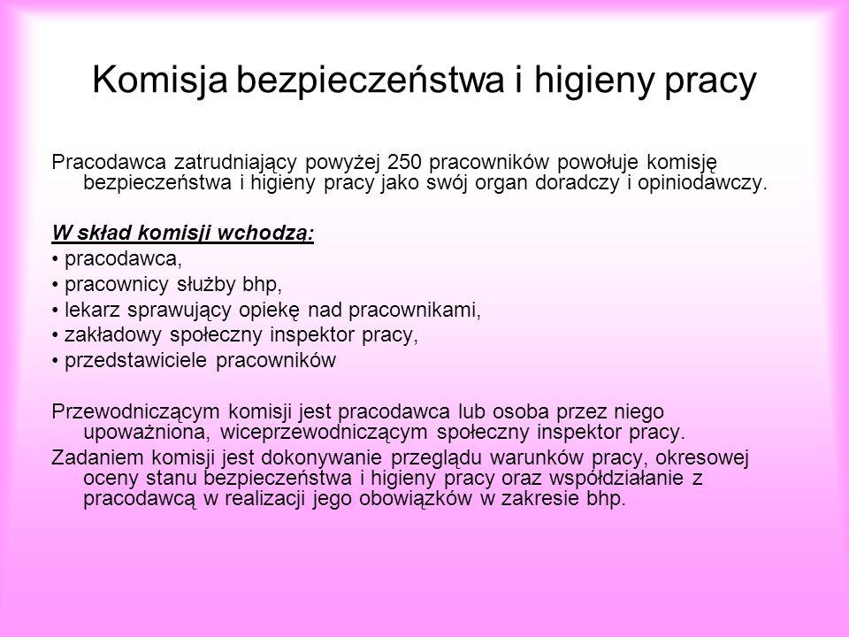 Komisja bezpieczeństwa i higieny pracy