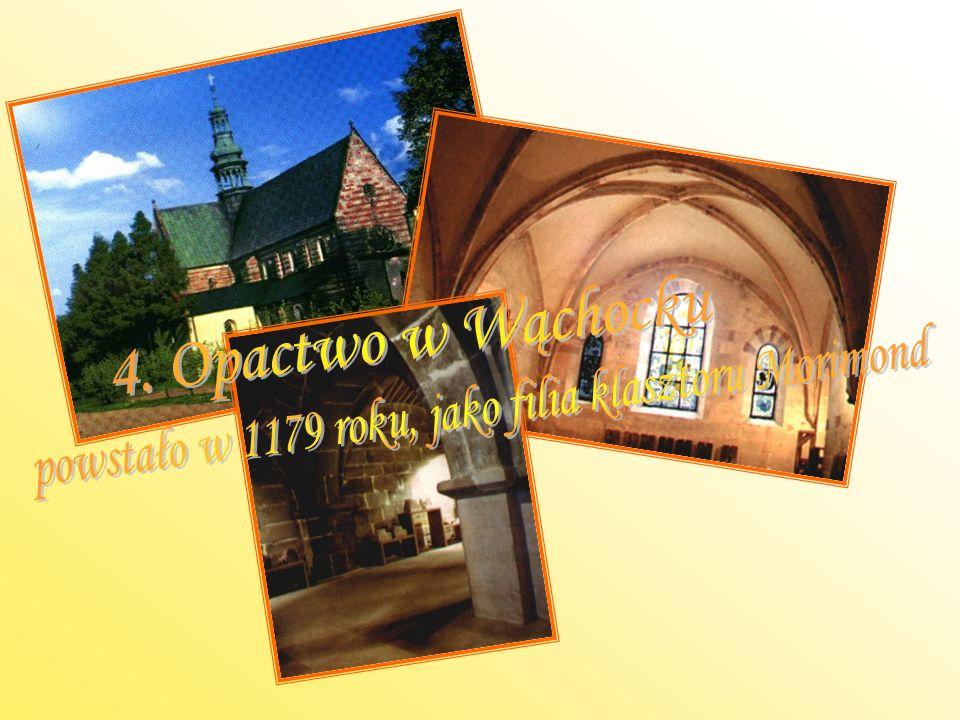 powstało w 1179 roku, jako filia klasztoru Morimond