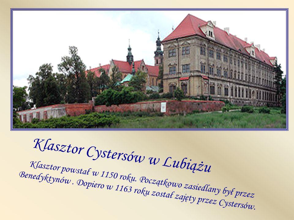 Klasztor Cystersów w Lubiążu